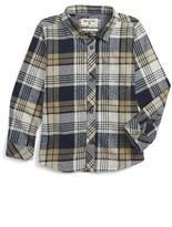 Billabong Toddler Boy's Coastline Flannel Shirt
