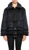 Sacai Tweed Mix Jacket