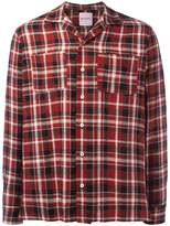 Palm Angels chest pocket plaid shirt