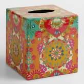 World Market Bettina Floral Tissue Cover