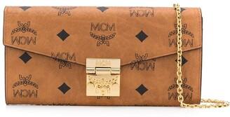 MCM Monogram Print Crossbody Bag