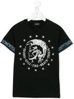 Diesel Tait T-shirt - kids - Cotton - 10 yrs