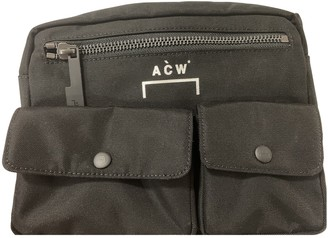 A-Cold-Wall* Black Polyester Small bags, wallets & cases