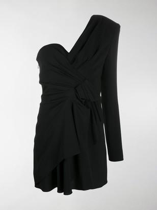 Saint Laurent One-Shoulder Dress