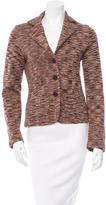 Magaschoni Silk Knit Jacket