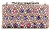 Jimmy Choo Celeste crystal-embellished clutch