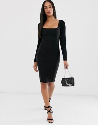 Vesper square neck dress