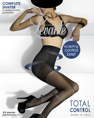 Levante 'Complete Shaper' Control Pantyhose COMPSPH in Natural and Black