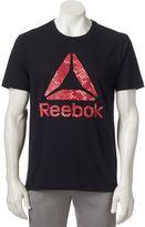 Reebok Men's Camo Logo Tee