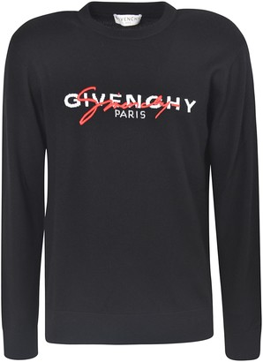 Givenchy Signature Embroidered Sweatshirt