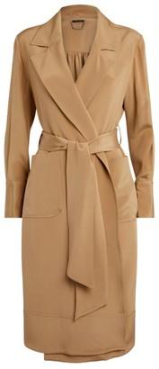 Kiton Silk Overcoat
