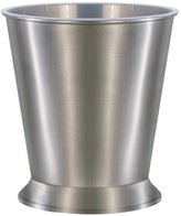 Merveilleux Brushed Nickel Bathroom Wastebasket My Web Value