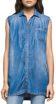 Calvin Klein Jeans Sleeveless Tencel Top