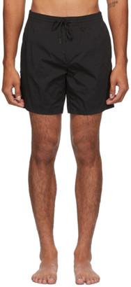 Fendi Black Forever Moisture-Reactive Swim Shorts