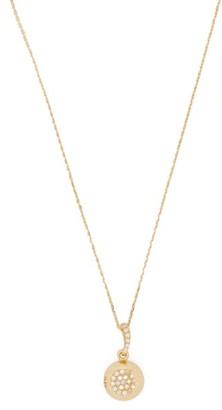Aurélie Bidermann Fine Jewellery Aurelie Bidermann Fine Jewellery - 18kt Gold & Diamond Pendant Necklace - Gold