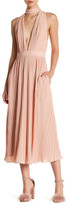 NBD Maeve Plunging V-Neck Maxi Dress