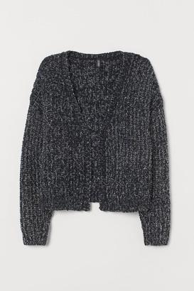 H&M Glittery Cardigan - Black
