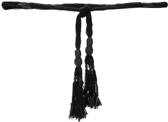 Saint Laurent Tassel Knot Belt