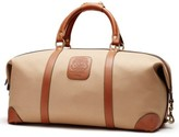 Ghurka 'Cavalier Ii' Canvas Duffel Bag - Brown