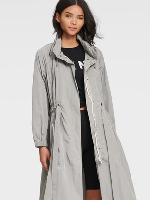 DKNY Elongated Zip-front Anorak