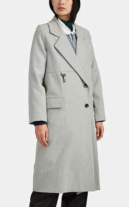 Melange Home Reese Cooper Women's Wool Topcoat - Gray