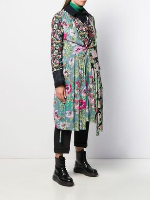 Junya Watanabe Floral Panelled Coat