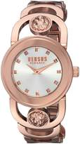 Versus By Versace Women's 'CARNABY STREET' Quartz Stainless Steel and Plated Casual Watch(Model: SCG130016)