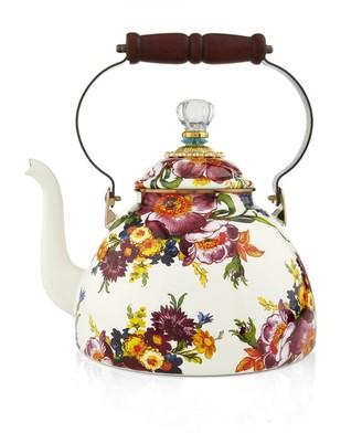 Mackenzie Childs Mackenzie-Childs Flower Market Enamel Tea Kettle