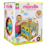 Alex Jr Maxville Wooden Activity Cube Interactive Toy