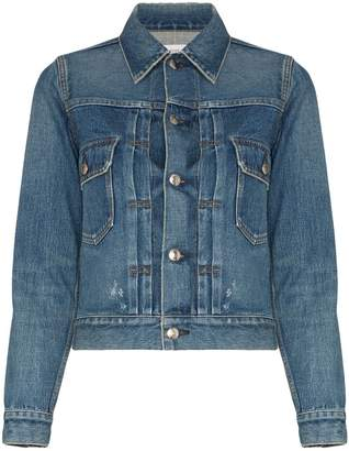 Hyke fitted denim jacket