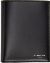 Givenchy Black Leather Logo Wallet