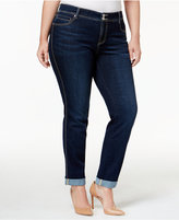 INC International Concepts Plus Size Rhodes Wash Boyfriend Jeans, Only at Macy's