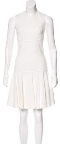 Alexander McQueen Sleeveless Knit Dress