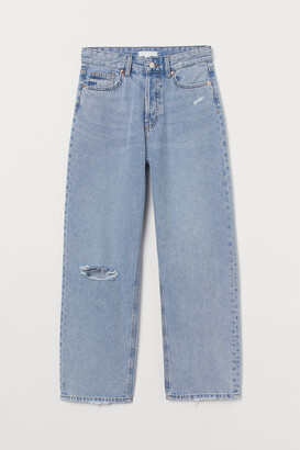 H&M Straight High Ankle Jeans