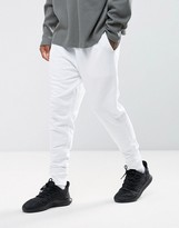 Asos Tapered Joggers In White