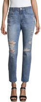 BELLE + SKY Mom Ankle Jeans