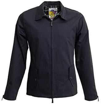 Harrington Men's Blouse Long Sleeve Jacket - Blue