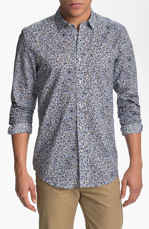 Antony Morato Floral Print Woven Shirt