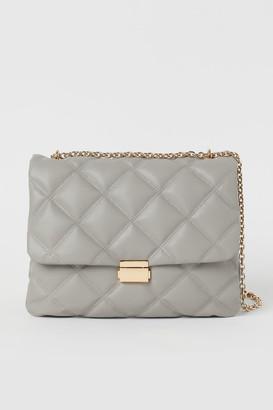 H&M Quilted Shoulder Bag - Gray
