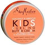 Shea Moisture SheaMoisture Kids Curl Butter Cream, Coconut & Hibiscus 6 oz package of 3