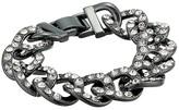 J.Crew Glitz Pave Chain Bracelet (Hematite) Bracelet