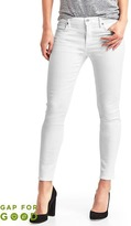 Gap Washwell mid rise true skinny ankle jeans