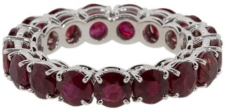 Bayco 18kt White Gold Ruby Ring