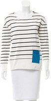 Piazza Sempione Striped Long Sleeve Top