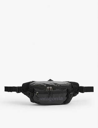 Patagonia Black Hole recycled-woven belt bag