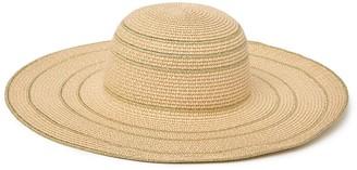 Nordstrom Rack Metallic Floppy Hat