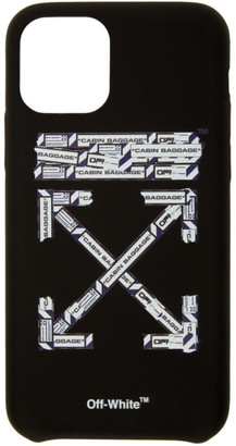 Off-White Black Airport Tape iPhone 11 Pro Case