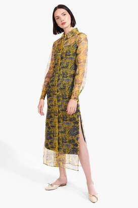 STAUD Frank Dress | Marigold Toile