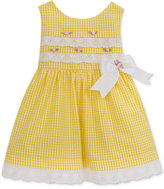 Rare Editions Floral Checkered Dress, Toddler & Little Girls (2T-6X)