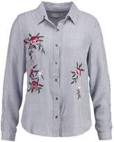 Cream VALERIE Shirt blue indigo